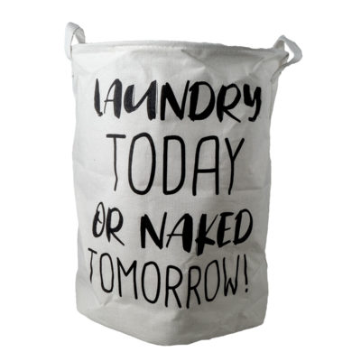 wäschesack laundry today or naked tomorrow